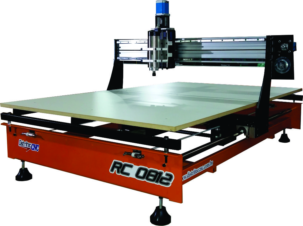ROUTER CNC RC0812 1.200 X 800 X 60mm