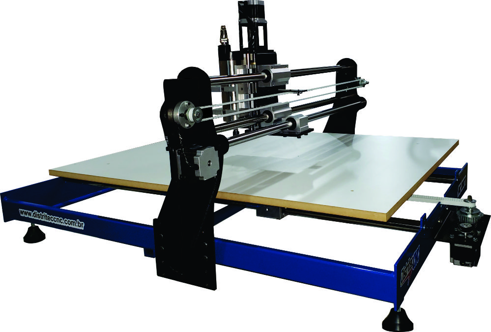 ROUTER CNC RC0807  ÁREA ÚTIL 800 X 700 X 60mm